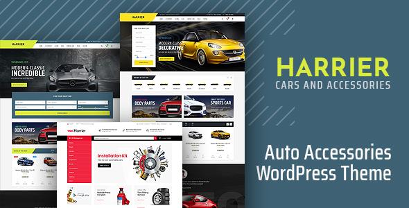 Wordpress Shop Template Harrier - Car Dealer and Automotive WordPress Theme