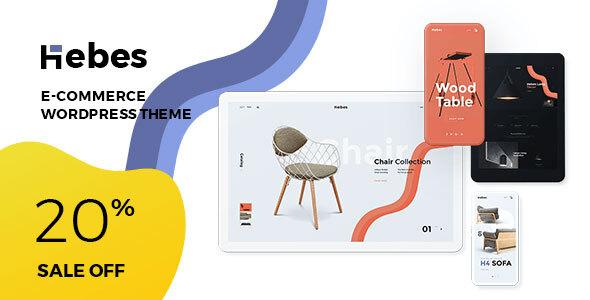 Wordpress Shop Template Hebes - MultiPurpose WooCommerce WordPress Theme