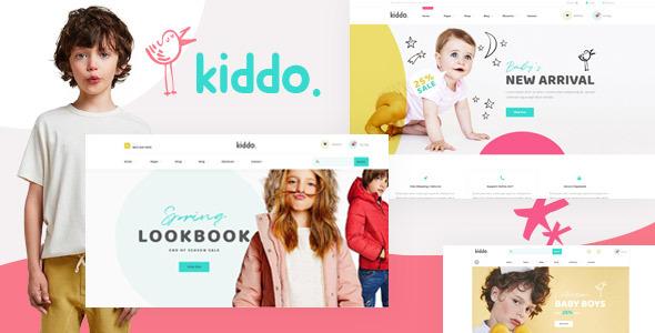 Wordpress Shop Template Kiddo - Kid Fashion WooCommerce WordPress Theme