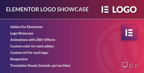 Wordpress Add-On Plugin Logo Showcase for Elementor WordPress Plugin