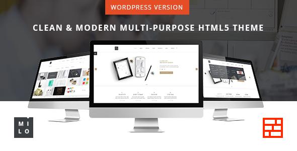 Wordpress Corporate Template Milo - Responsive & Multipurpose WordPress Theme