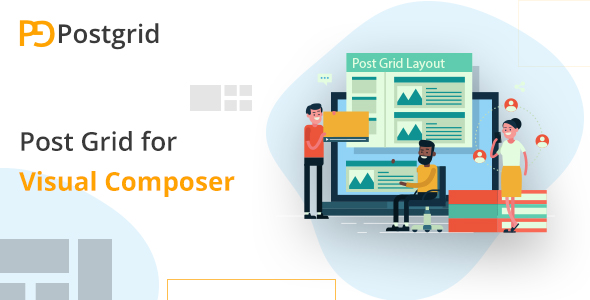 Wordpress Add-On Plugin Post Grid For Visual Composer