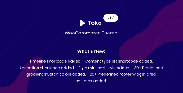 Wordpress Shop Template Toko - WooCommerce Multipurpose Theme
