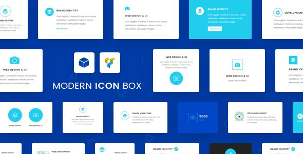 Wordpress Add-On Plugin Ultimate Icon Box for Visual Composer WordPress