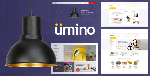 Wordpress Shop Template Umino - Furniture & Interior for WooCommerce WordPress