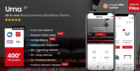 Wordpress Shop Template Urna - All-in-one WooCommerce WordPress Theme