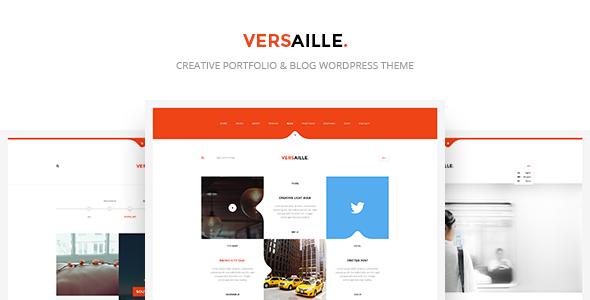 Wordpress Blog Template Versaille - Personal Blog WordPress Theme