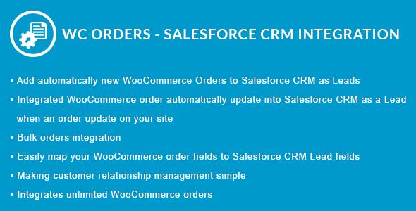 Wordpress E-Commerce Plugin WooCommerce Orders - Salesforce CRM Integration