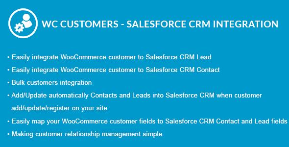 Wordpress E-Commerce Plugin WooCommerce Customers - Salesforce CRM Integration