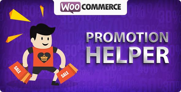 Wordpress E-Commerce Plugin WooCommerce Promotion Helper