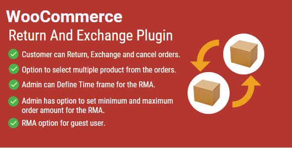 Wordpress E-Commerce Plugin WordPress WooCommerce Return And ExChange RMA Plugin