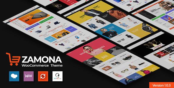 Wordpress Shop Template Zamona - Responsive WooCommerce WordPress Theme