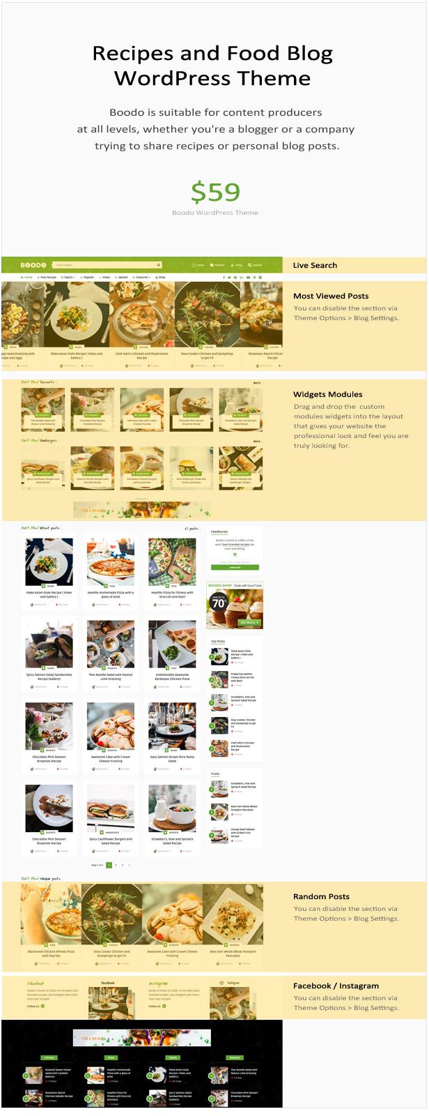 Boodo WP - Lebensmittel- und Zeitschriftengeschäft WordPress Theme - 2