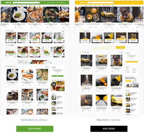 Boodo WP - Lebensmittel- und Zeitschriftengeschäft WordPress Theme - 1
