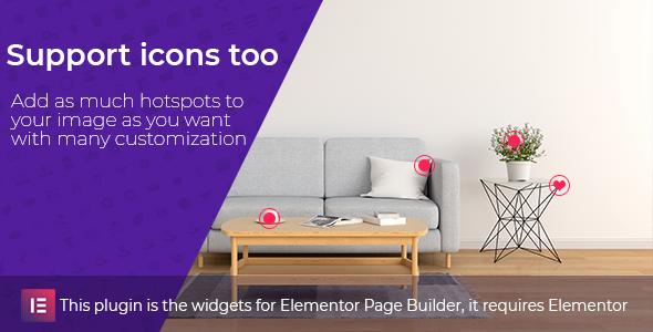 Image Hotspot Widgets für Elementor - 1
