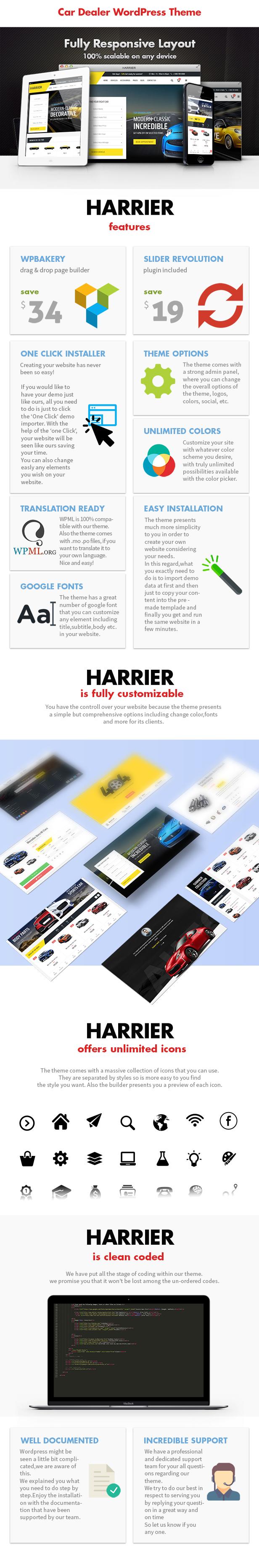 Harrier - Autohändler und Automotive WordPress Theme - 3