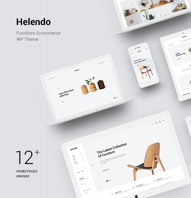 Helendo WooCommerce WordPress-Theme für Möbel