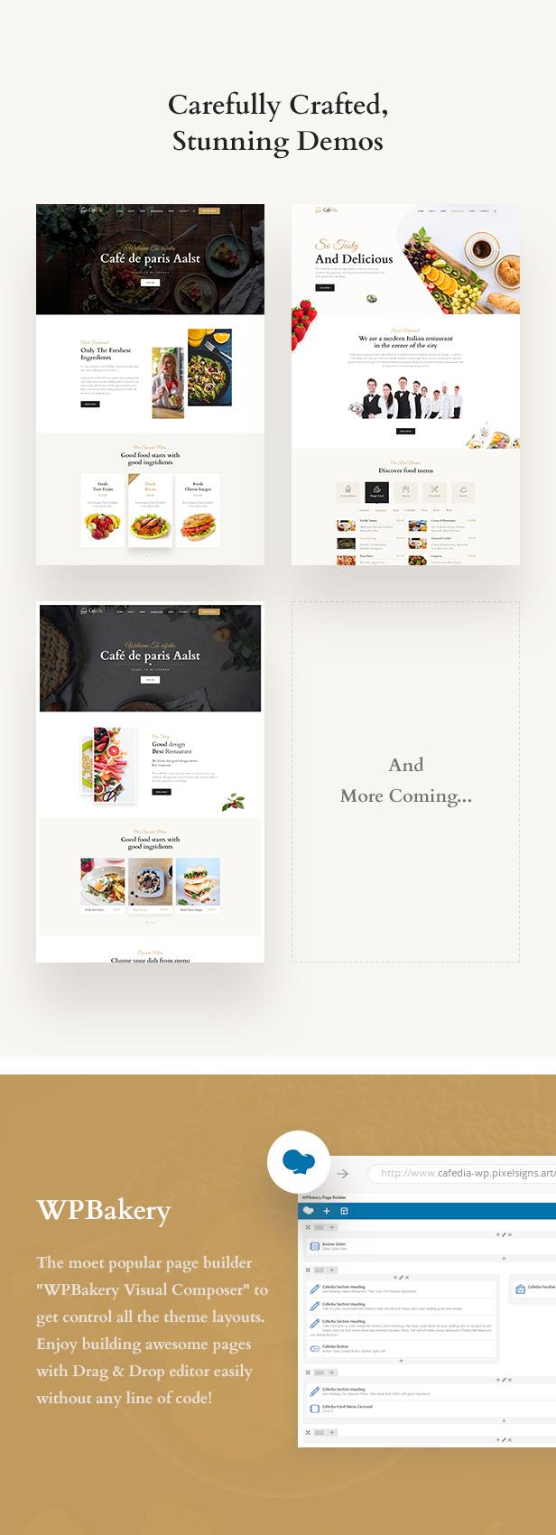 CafeDia - Restaurant WordPress Theme - 3