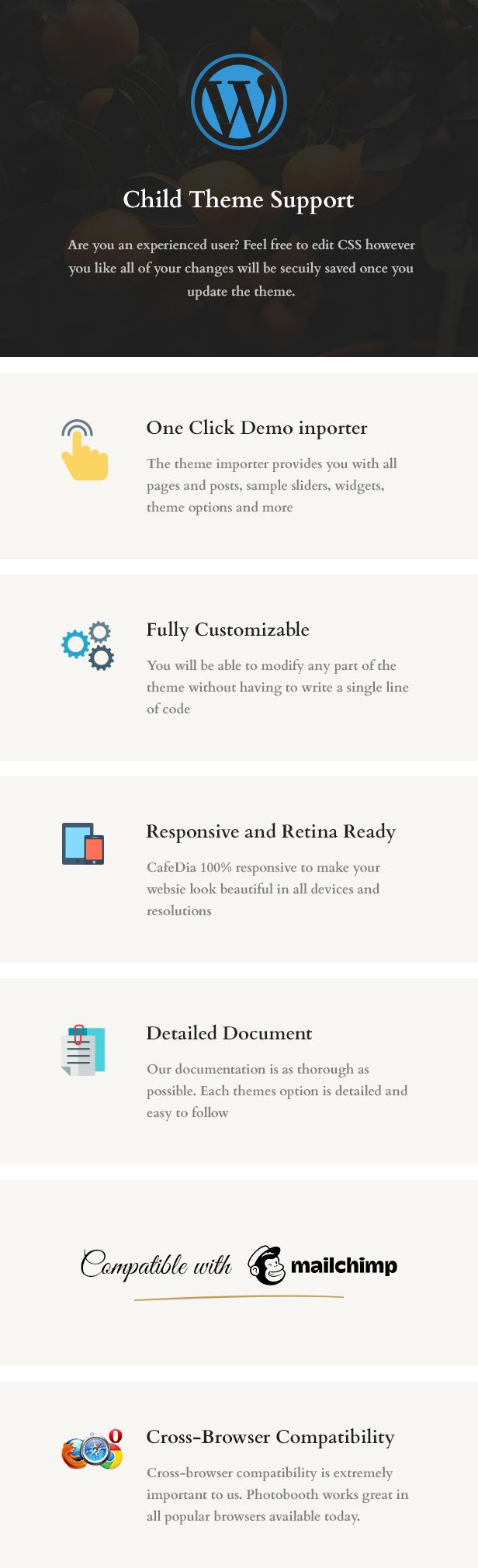 CafeDia - Restaurant WordPress Theme - 5