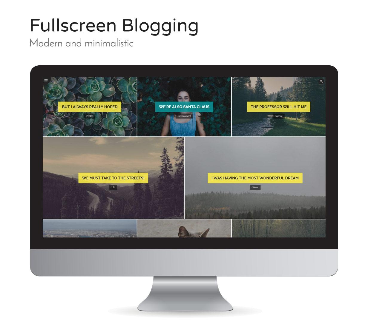 Weizen - WordPress einfach Blogging-Thema - 3