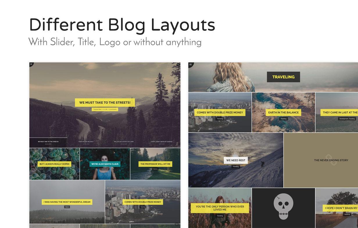 Weizen - WordPress einfach Blogging-Thema - 6