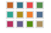 Tektonisches Thema - Farbschemata