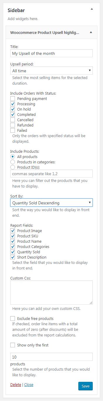 WooCommerce Trending Products Widgets und Popups - 2