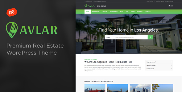 Freehold - Responsive Real Estate Theme - 1
