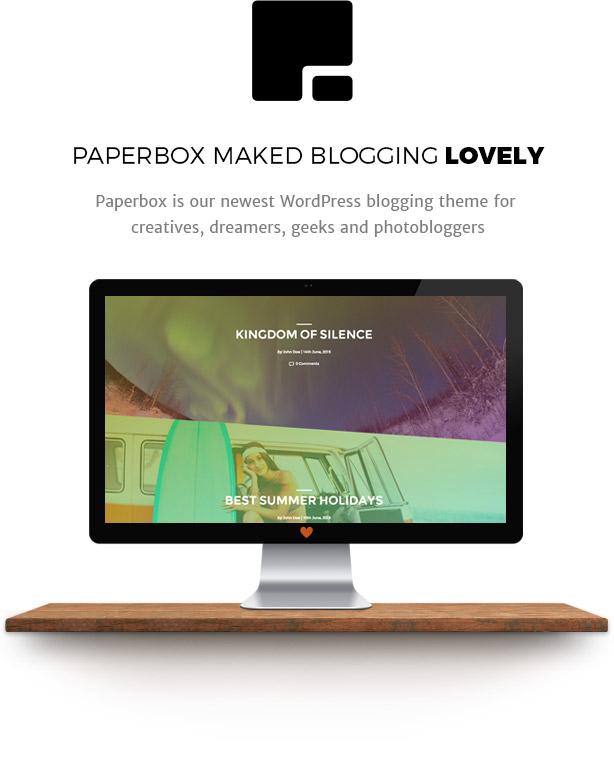 Paperbox - Modernes WordPress Blog Theme - 1