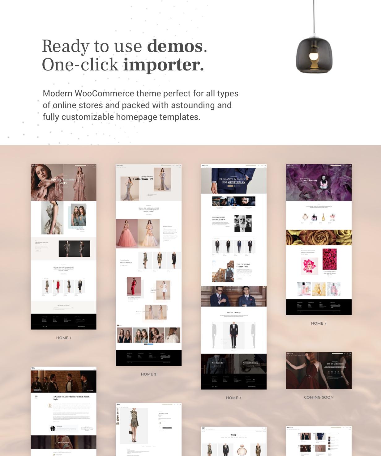 Tera - Modernes WooCommerce WordPress Theme - 1