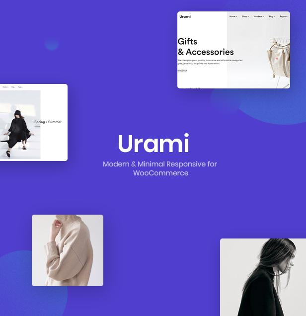 Urami WP - Modernes minimalistisches WooCommerce-Thema - 3