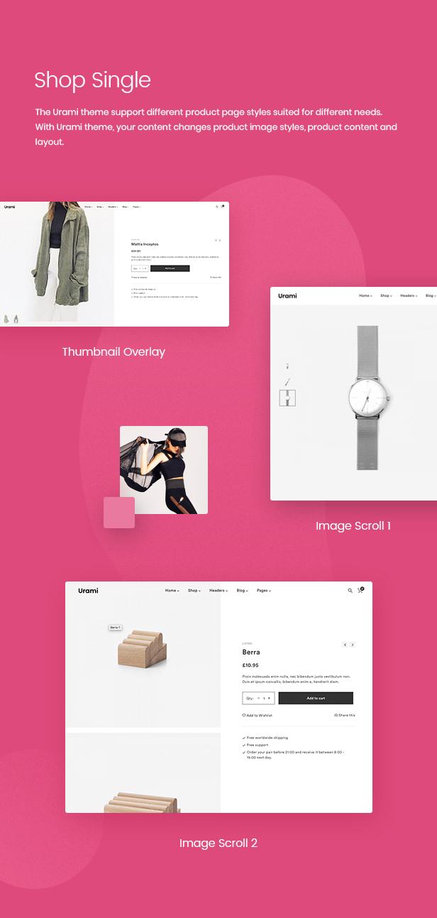 Urami WP - Modernes minimalistisches WooCommerce Thema - 6