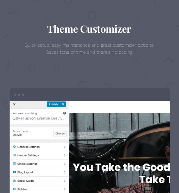 Qstyle - Ein WordPress-Theme für Blogger - 9