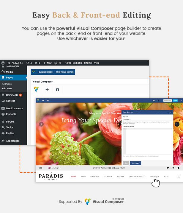 Paradise - Reaktionsschneller Countdown für das WordPress-Theme von WooCommerce