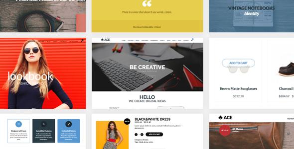 Wordpress Corporate Template ACE - Responsive, Multi-Purpose, Retina Ready Theme