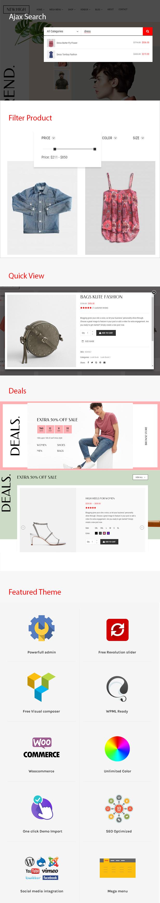 Neues High Fashion WooCommerce WordPress Theme - 3