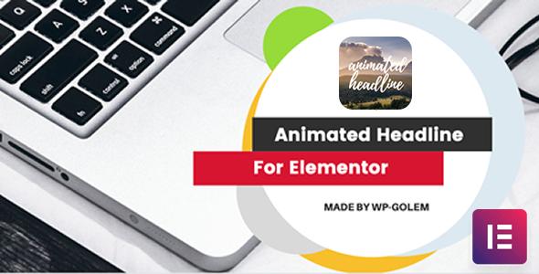 Wordpress Add-On Plugin Animation Headline for Elementor Page Builder WordPress Plugin