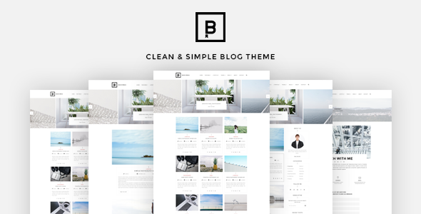 Wordpress Blog Template BasicMag - Minimalist Responsive Personal Blog