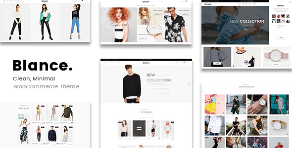Wordpress Shop Template Blance - Clean, Minimal WooCommerce WordPress Theme