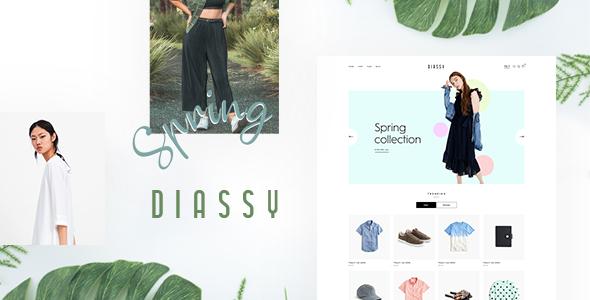 Wordpress Shop Template Diassy - Multipurpose WooCommerce Theme