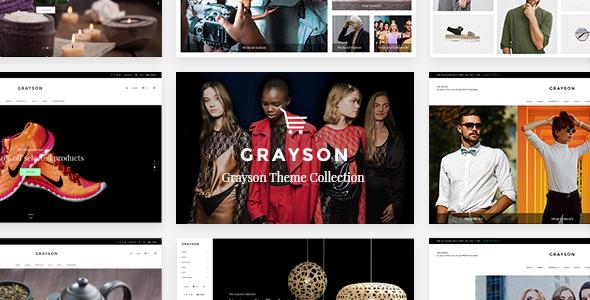 Wordpress Shop Template Grayson - Clothing Shop Theme