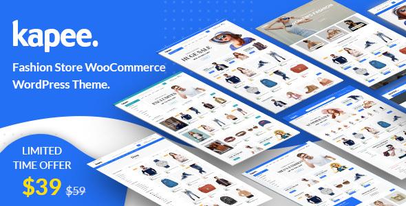 Wordpress Shop Template Kapee - Fashion Store WooCommerce Theme