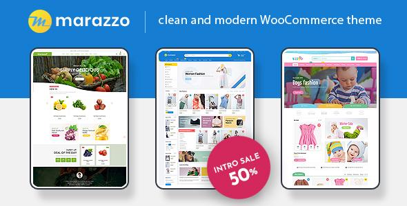Wordpress Shop Template Marazzo - MultiPurpose WooCommerce WordPress Theme