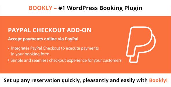 Wordpress Add-On Plugin Bookly PayPal Checkout (Add-on)