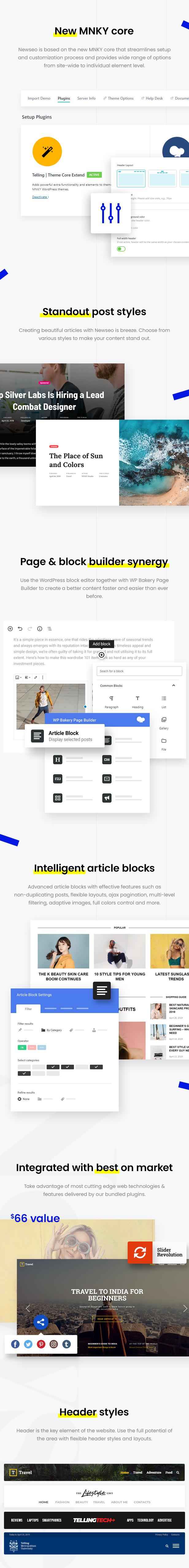 Erzählen - Multi-Concept News und Publishing Theme - 2