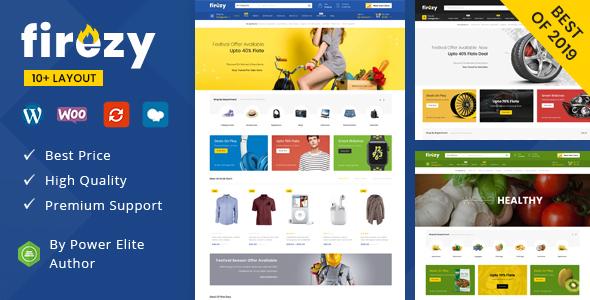 Wordpress Shop Template firezy - Multipurpose WooCommerce Theme
