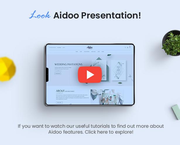 Aidoo - Hochzeitswagen WooCommerce Theme - 10