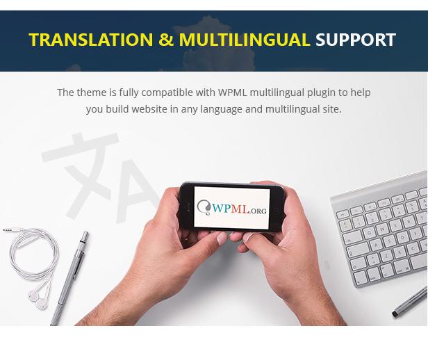 WPML-Unterstützung für mehrere Sprachen