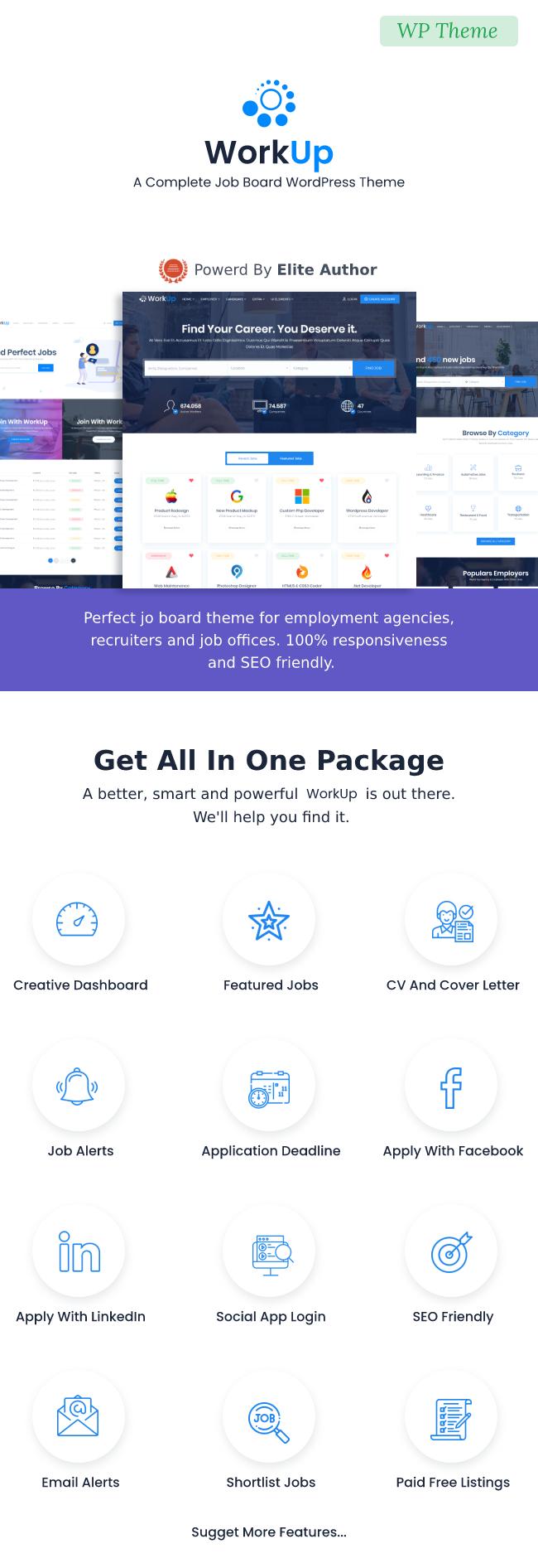 Aufarbeitung - Job Board WordPress Theme - 4