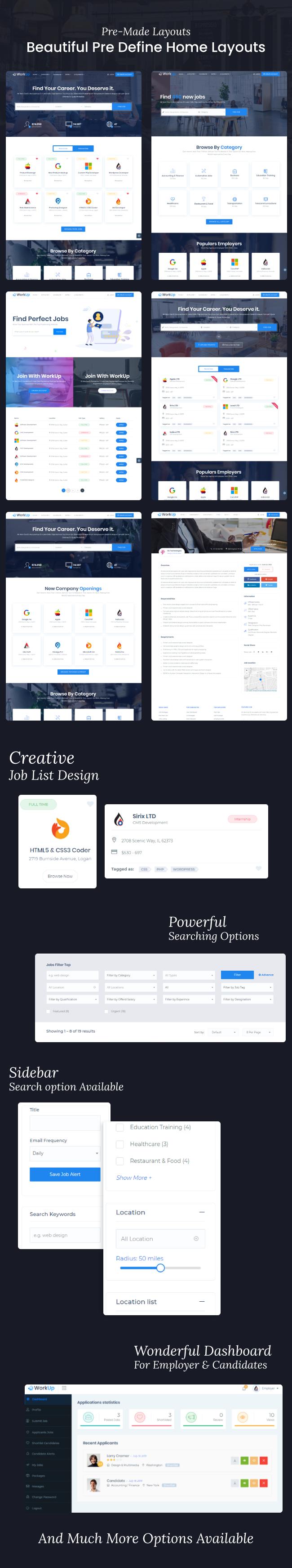Aufarbeitung - Job Board WordPress Theme - 5